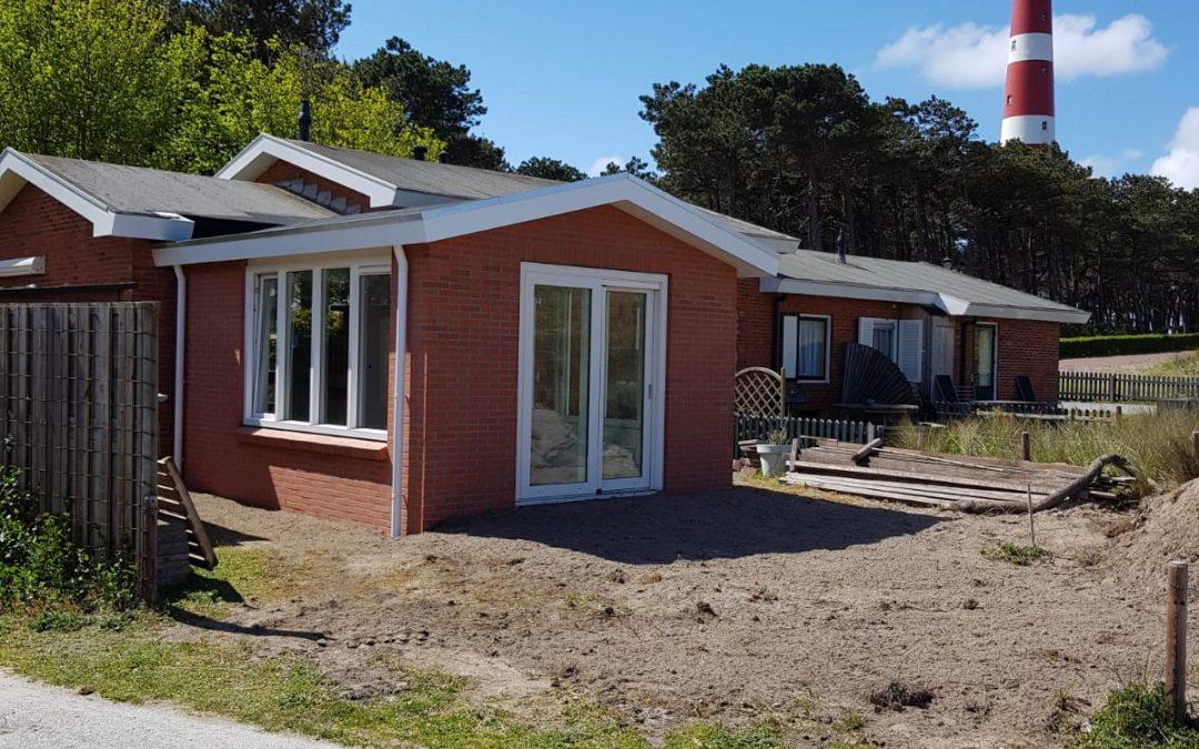 Renovatie vakantiehuisje Oranjeweg